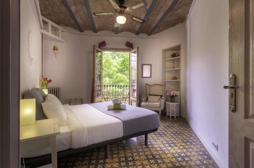 La chambre double au Primavera Hostel
