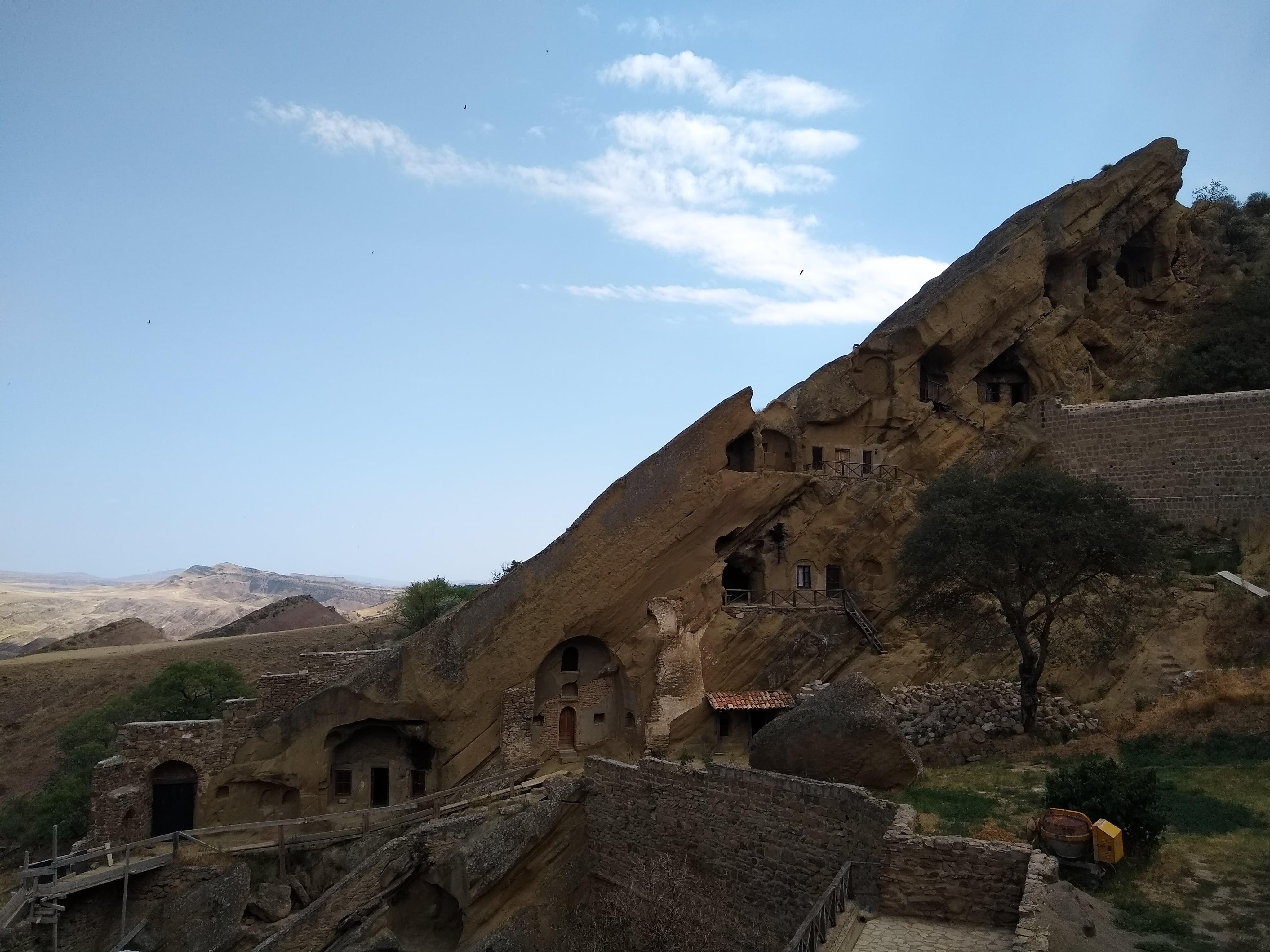 Le monastère de David Garedja du VIe siècle