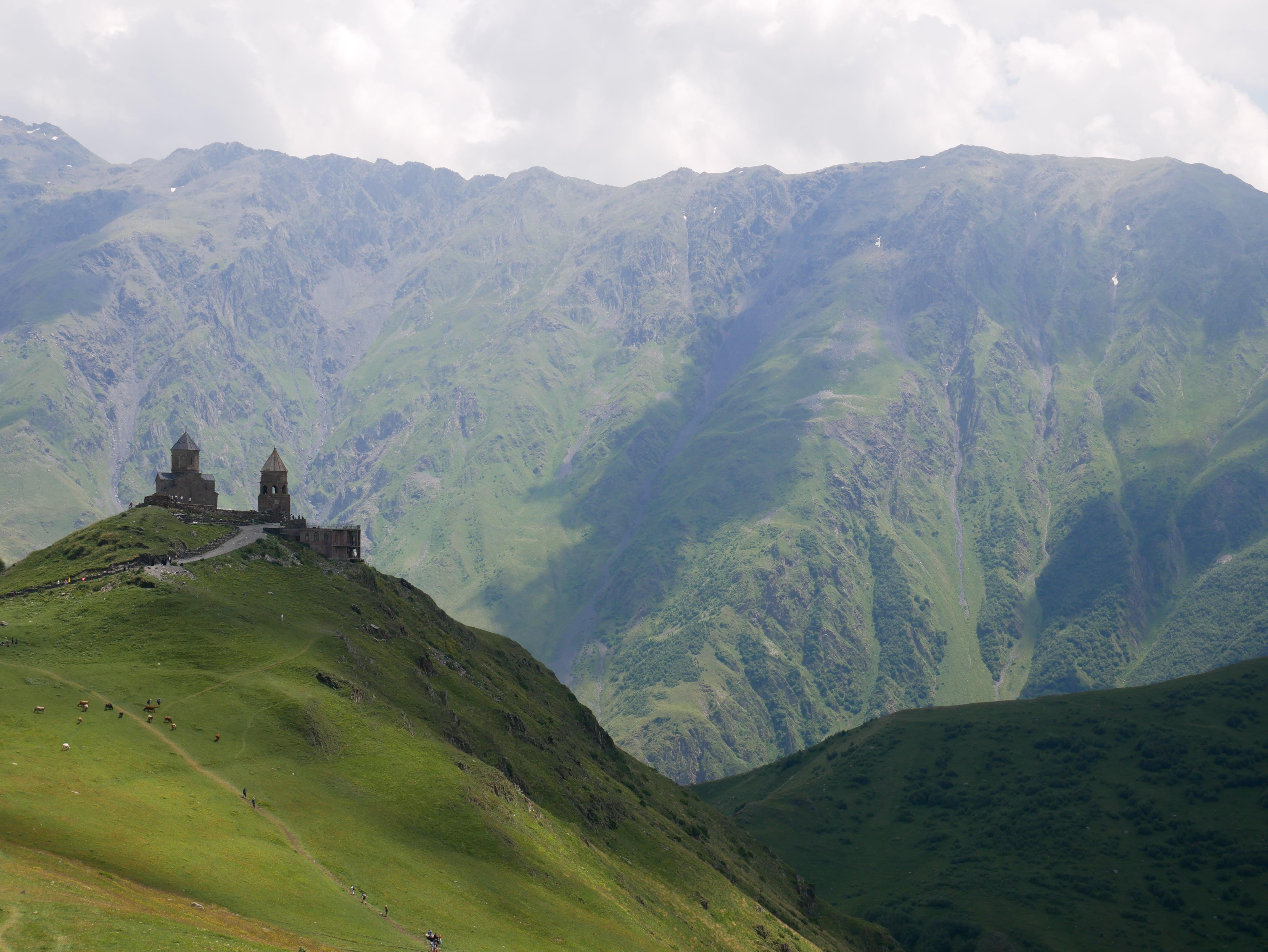 L'église de la Trinité de Guerguéti