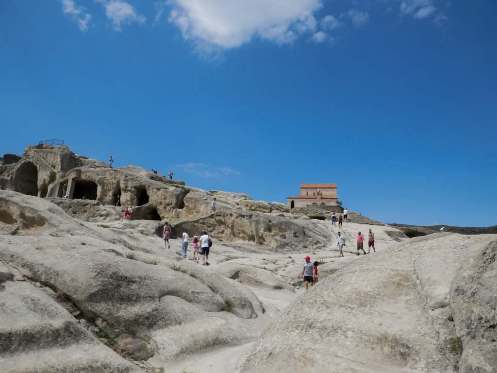 La cité troglodytique d'Ouplistsikhé date du premier millénaire avant Jésus-Christ. Un lieu incroyable !