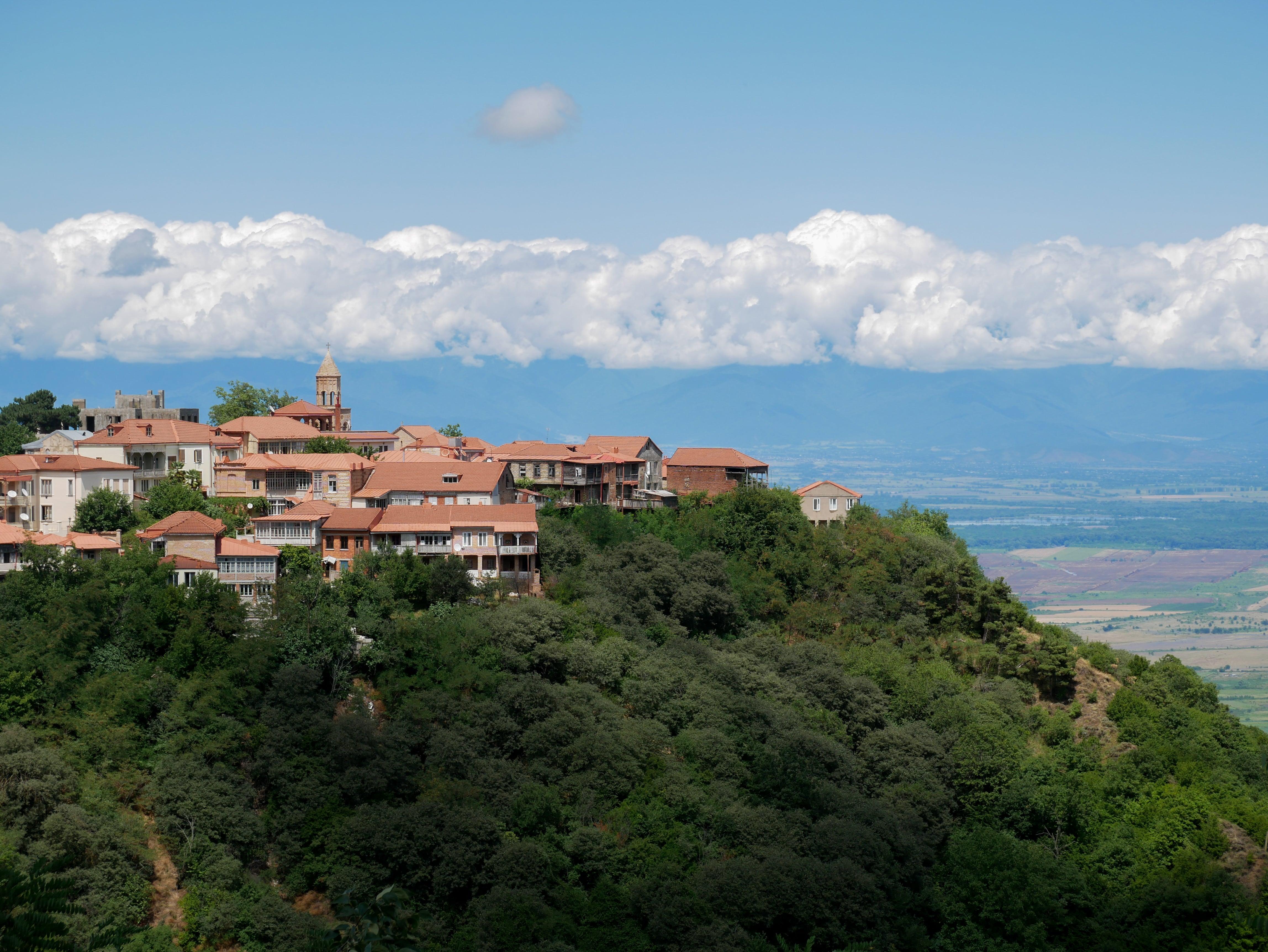 Sighnaghi, la ville des amoureux et du vin !