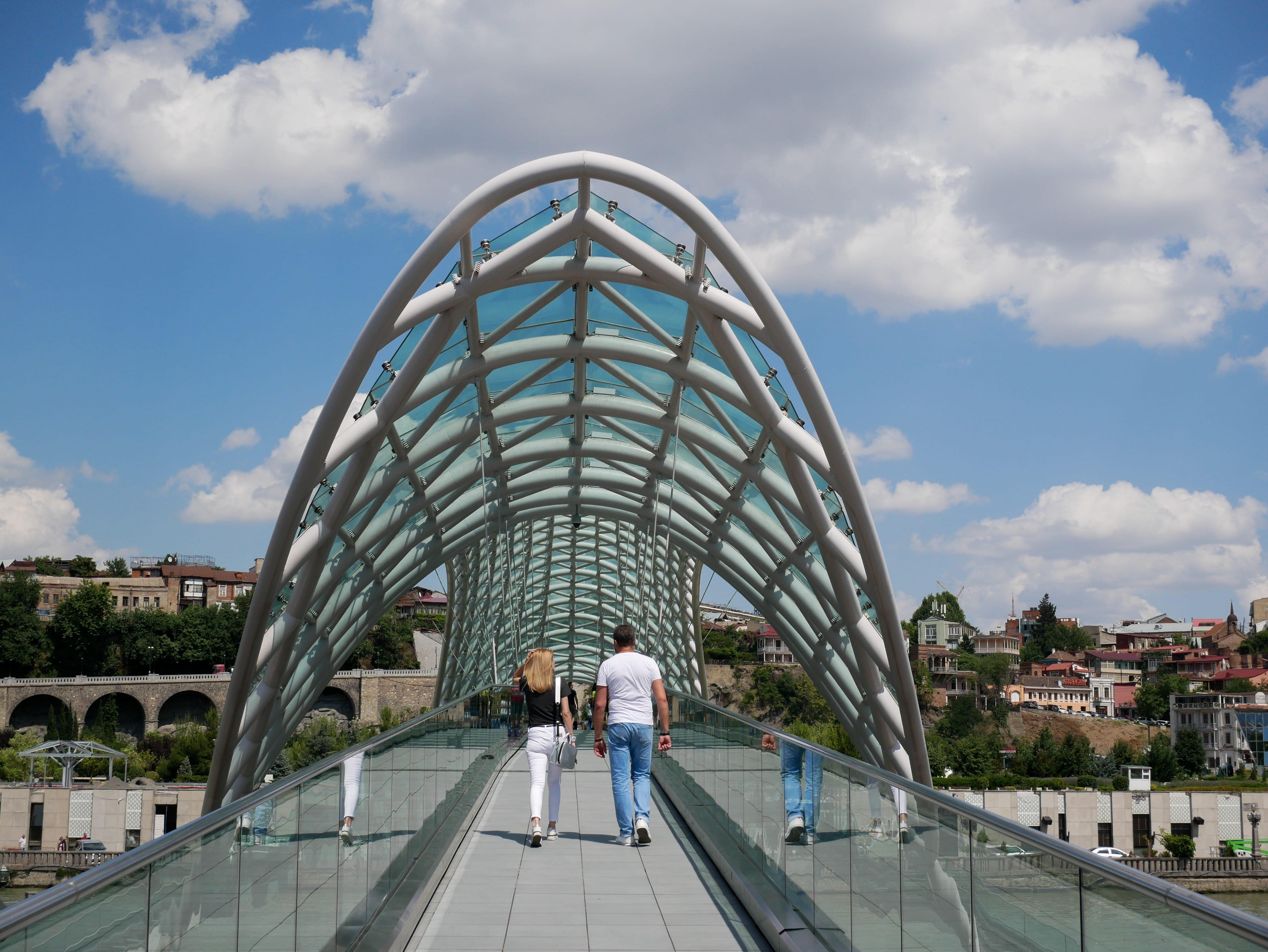 Le pont de la paix Tbilissi