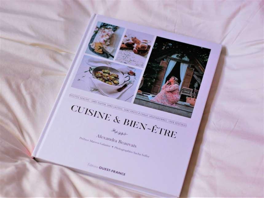 Le livre d'Alexandra Beauvais, Cuisine & Bien-être, paru aux éditions Ouest-France.