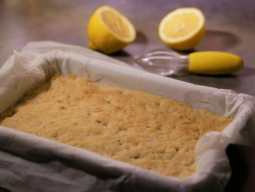 Pâte sablée cuite 25 minutes.
