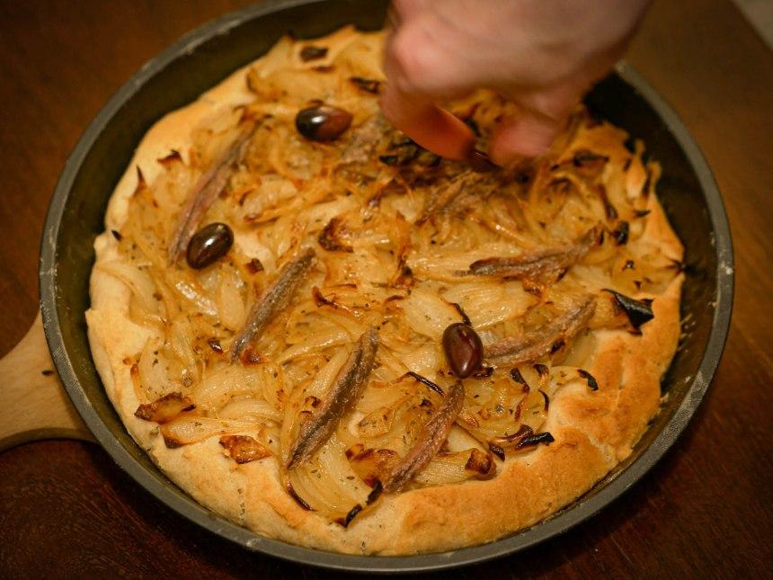La pissaladière, un plat typique de la Provence