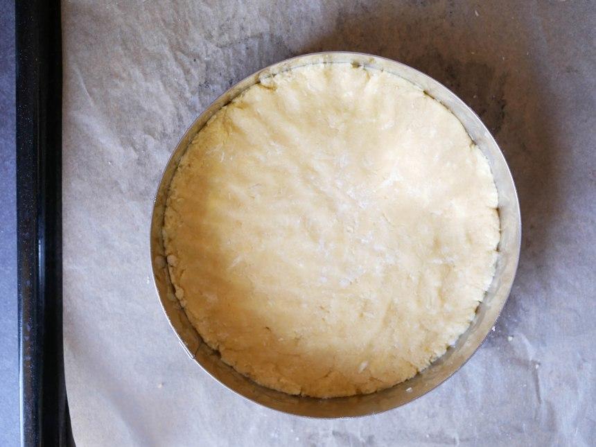 Pâte à sablé breton avant cuisson