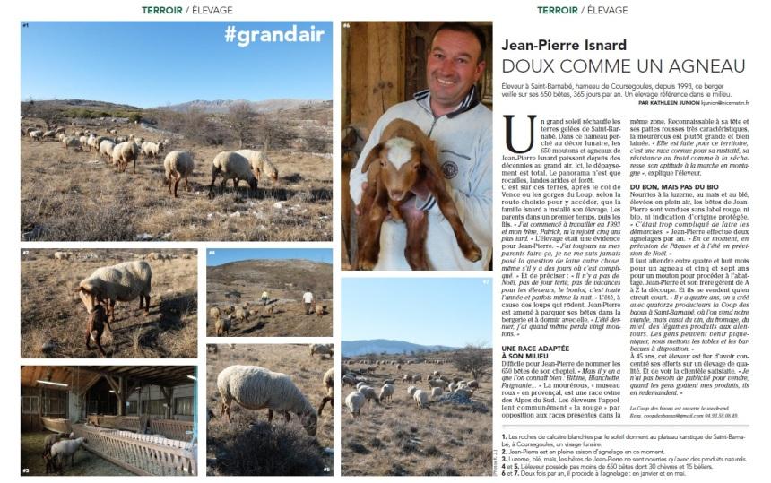 Reportage texte et photo pour Nice-Matin