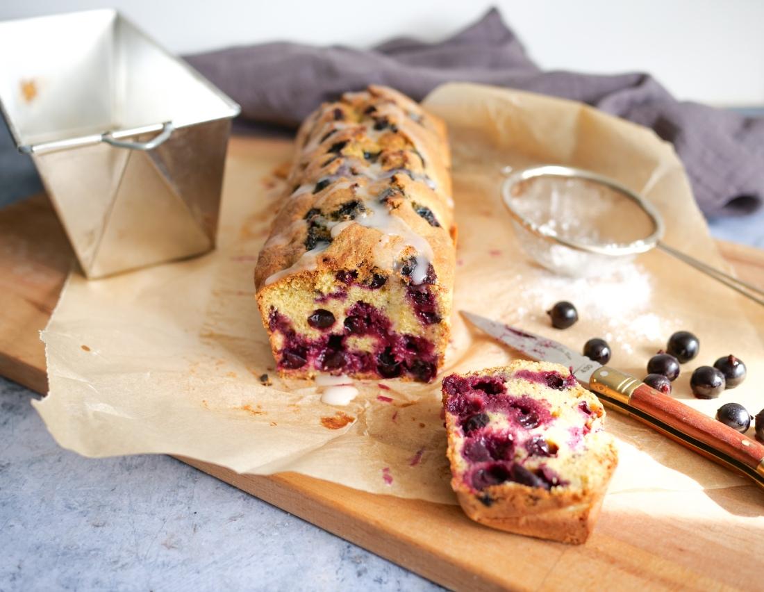 Cake sans gluten aux groseilles