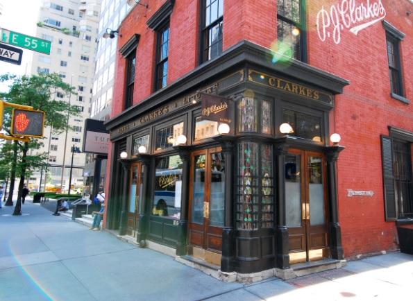 PJ Clarks lieu mythique pour manger un mac and cheese à NYC