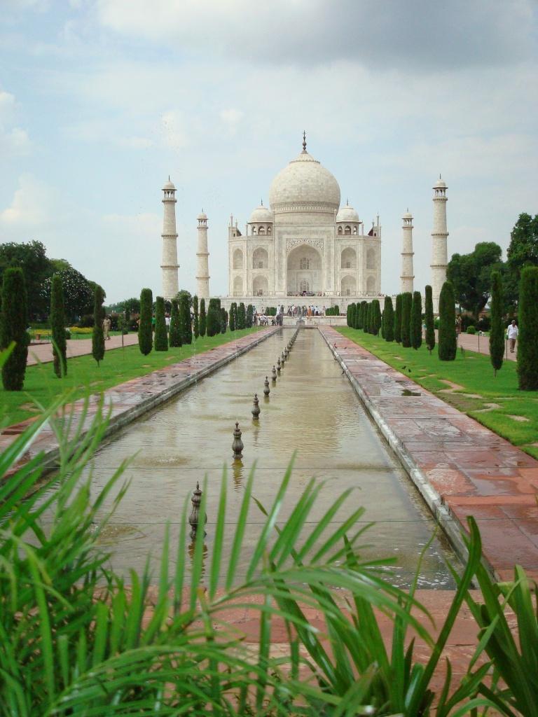 Le Taj Mahal, une sacrée claque