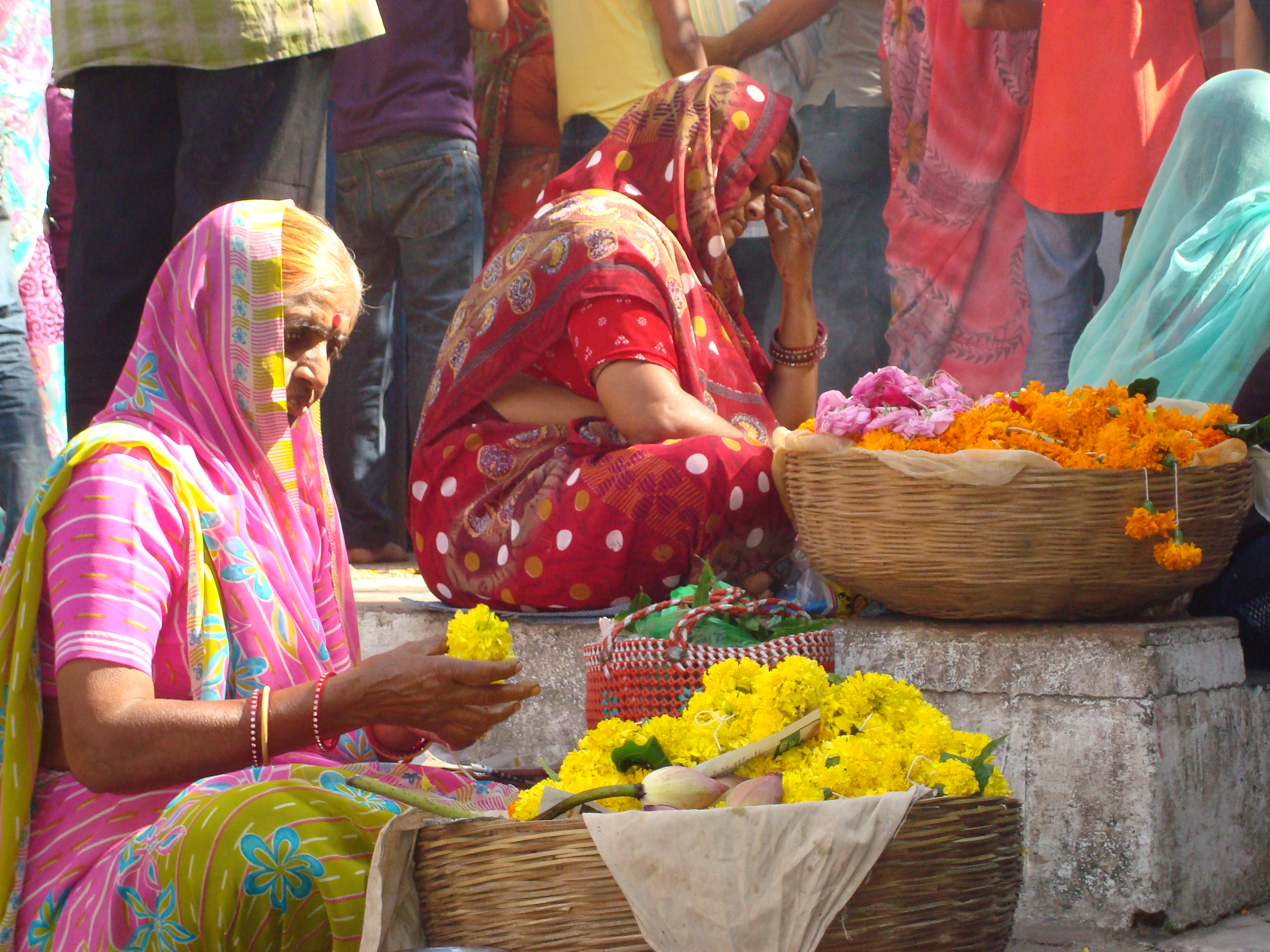 Les fêtes religieuses et les couleurs sont très présentes en Inde