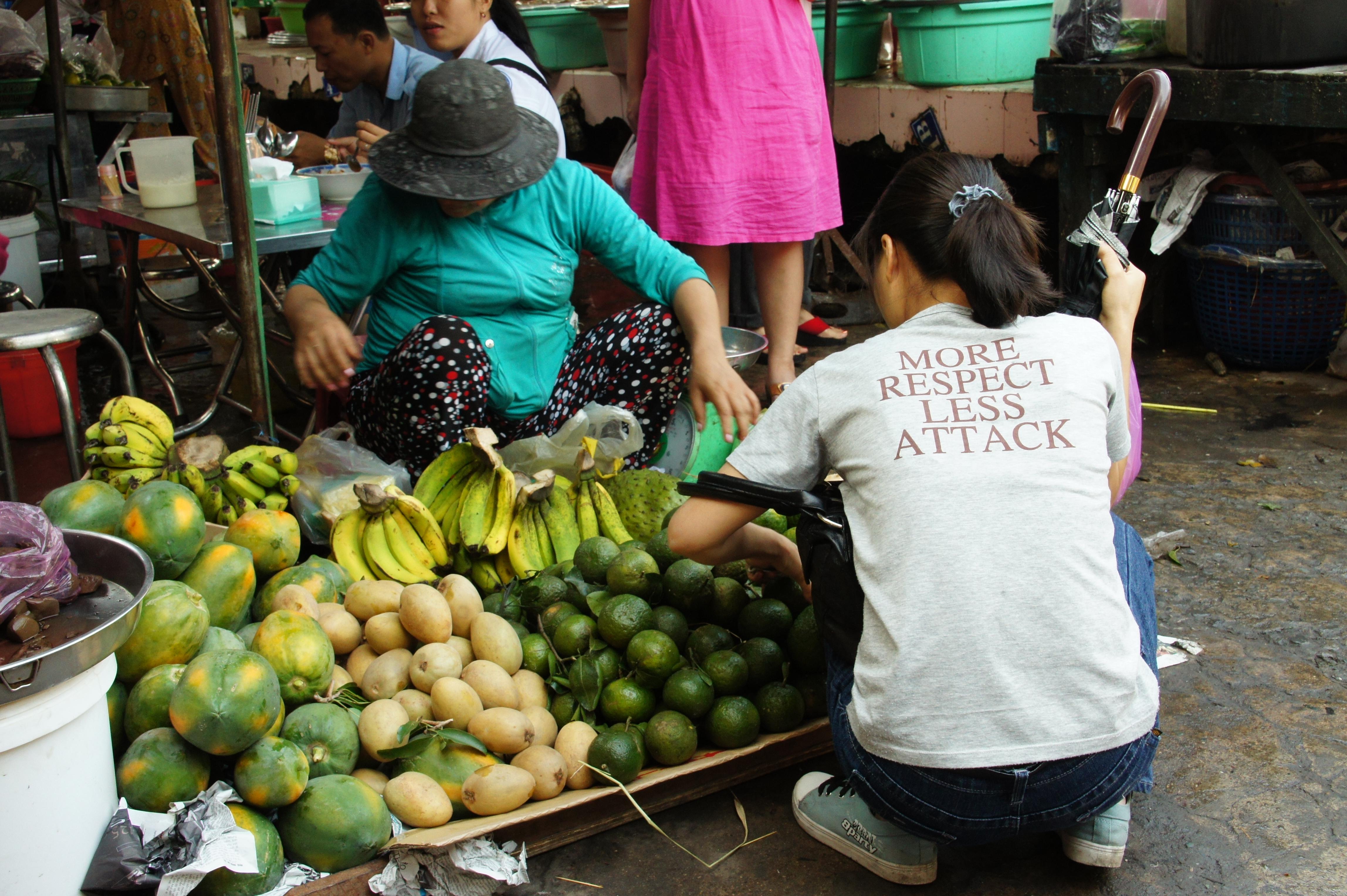 Les fruits ont une saveur incroyable en Asie