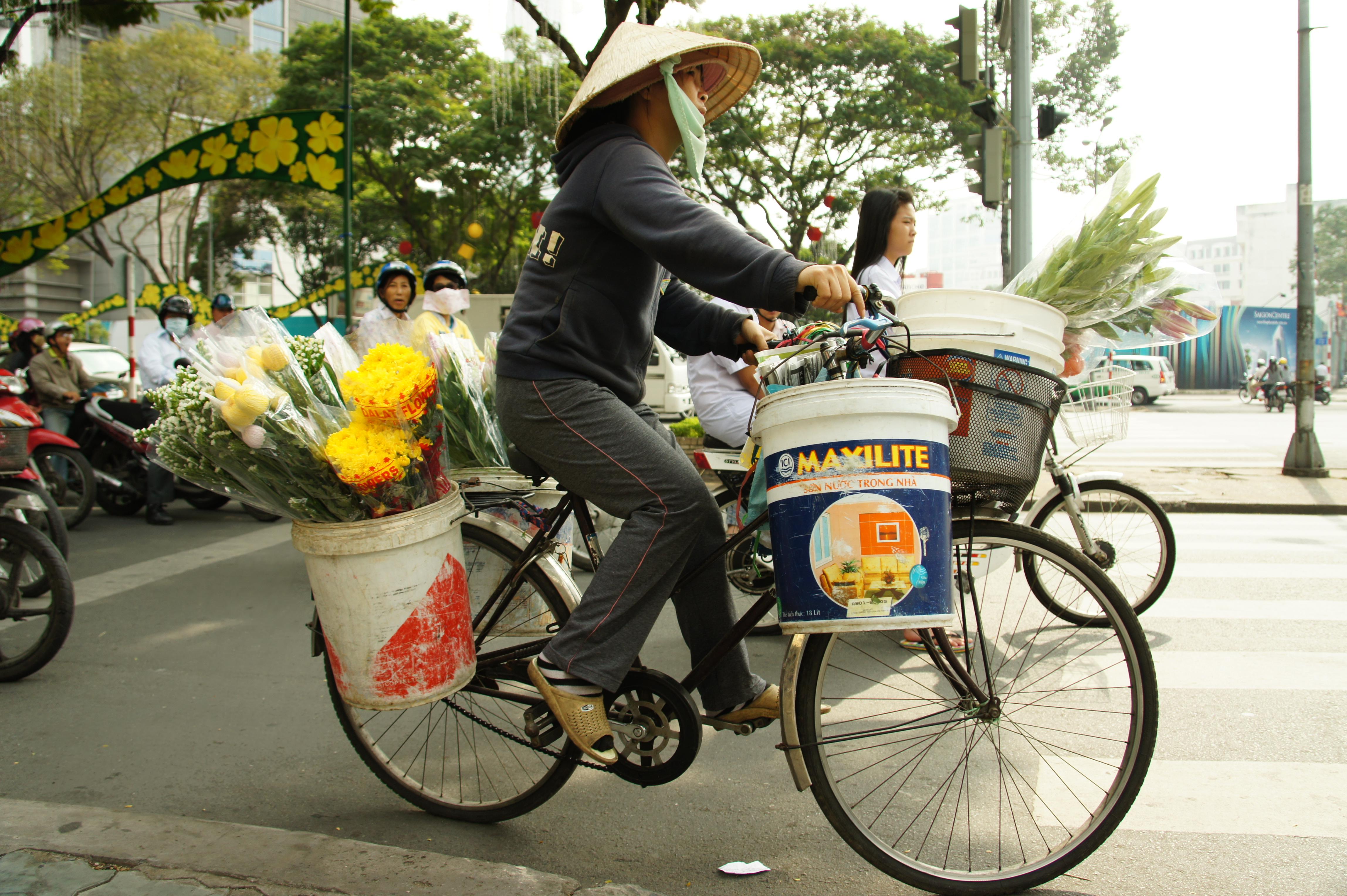 Le vélo et le scooter au Vietnam sont rois !