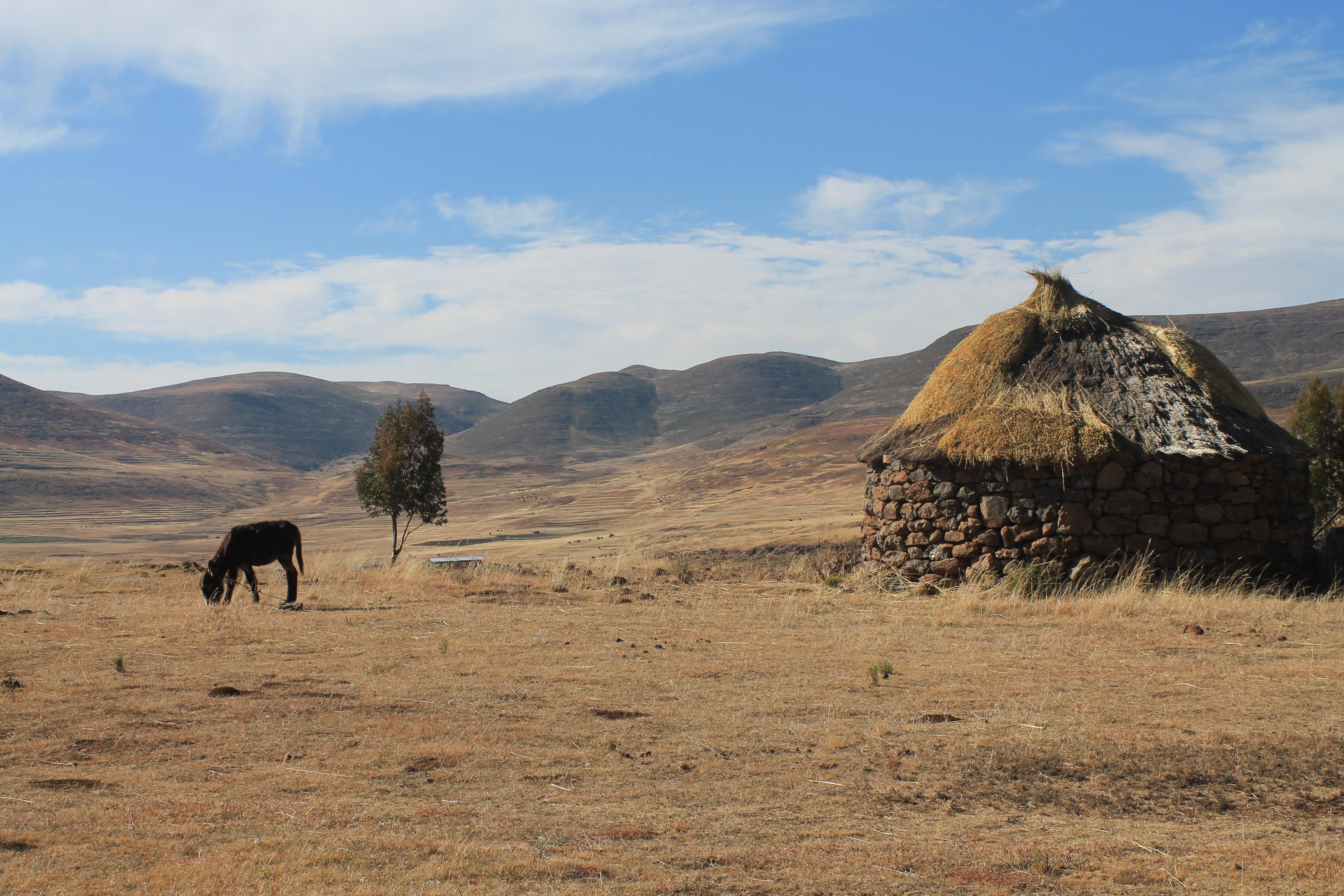 Le Lesotho, surnommé le royaume dans le ciel