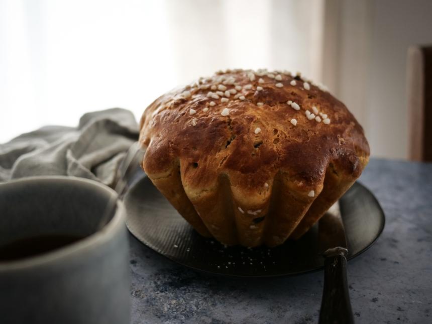 Un cramique pour le petit-déjeuner , c'est toujours une bonne idée !