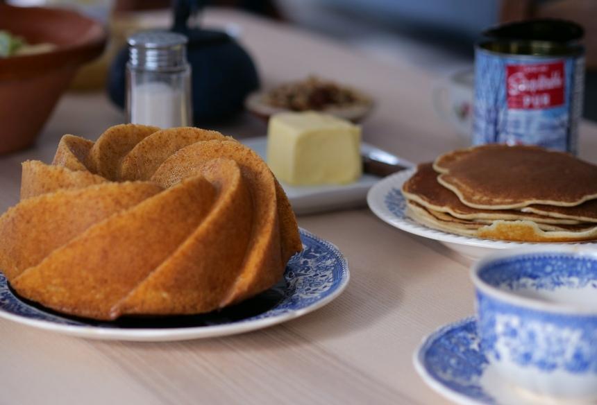 Un bundt cake au citron pour le brunch c'est parfait ou le goûter !